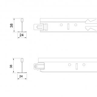 T38/38加強型: (平接型/搭接型)